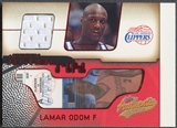 2001/02 Fleer Authentix #12 Lamar Odom Ticket Jersey