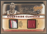 2001/02 Fleer Authentix #KM Kenyon Martin Courtside Classics Memorabilia Seat Patch #043/150