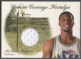 2000/01 Fleer #13 DeShawn Stevenson Genuine Coverage Nostalgic Jersey