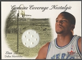2000/01 Fleer #15 Etan Thomas Genuine Coverage Nostalgic Jersey