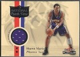 2001/02 Fleer Platinum #2 Shawn Marion National Patch Time Jersey