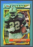 1994 Finest #1 Emmitt Smith Refractor
