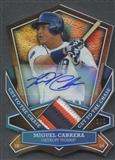 2013 Topps #MC Miguel Cabrera Cut To The Chase Patch Auto #3/5