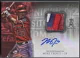 2013 Bowman Inception #MT Mike Trout Red Patch Auto #08/10