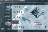 1996 Upper Deck SP Football Hobby Box