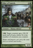 Magic the Gathering Innistrad Single Elder of Laurels Foil UNPLAYED