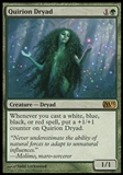 Magic the Gathering 2013 Single Quirion Dryad UNPLAYED x4 (Playset)