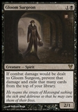 Magic the Gathering Avacyn Restored Single Gloom Surgeon Foil UNPLAYED