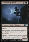 Magic the Gathering 2013 Single Vampire Nighthawk UNPLAYED