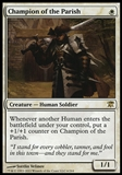 Magic the Gathering Innistrad Single Champion of the Parish Foil - NEAR MINT (NM)