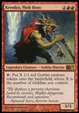 Magic the Gathering 2013 Single Krenko, Mob Boss UNPLAYED