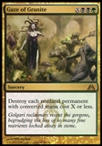 Magic the Gathering Dragon's Maze Single Gaze of Granite UNPLAYED x4 (Playset)