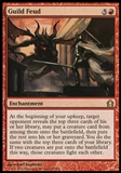 Magic the Gathering Return to Ravnica Single Guild Feud Foil UNPLAYED