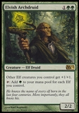 Magic the Gathering 2012 Single Elvish Archdruid UNPLAYED