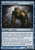 Magic the Gathering Innistrad Single Undead Alchemist Foil UNPLAYED