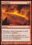 Magic the Gathering New Phyrexia Single Whipflare Foil - NEAR MINT (NM)