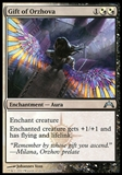 Magic the Gathering Gatecrash Single Gift of Orzhova Foil UNPLAYED