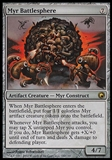 Magic the Gathering Scars of Mirrodin Single Myr Battlesphere - NEAR MINT (NM)