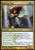 Magic the Gathering Gatecrash Single Fathom Mage Foil UNPLAYED