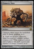 Magic the Gathering Scars of Mirrodin Single Chimeric Mass Foil UNPLAYED