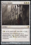 Magic the Gathering New Phyrexia Single Norn's Annex Foil UNPLAYED