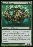 Magic the Gathering Scars of Mirrodin Single Ezuri's Brigade Foil UNPLAYED