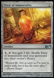 Magic the Gathering 2013 Single Elixir of Immortality UNPLAYED x4 (Playset)