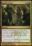 Magic the Gathering Return to Ravnica Single Jarad's Orders UNPLAYED x4 (Playset)