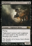 Magic the Gathering 2014 Single Nightmare UNPLAYED x4 (Playset)