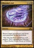 Magic the Gathering Dragon's Maze Single Obzedat's Aid UNPLAYED x4