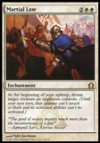 Magic the Gathering Return to Ravnica Single Martial Law UNPLAYED x4 (Playset)
