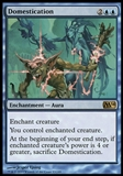 Magic the Gathering 2014 Single Domestication UNPLAYED x4 (Playset)