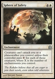 Magic the Gathering Return to Ravnica Single Sphere of Safety Foil UNPLAYED