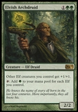 Magic the Gathering 2013 Single Elvish Archdruid UNPLAYED