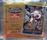 1996 Topps Chrome Football Hobby Box