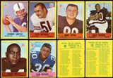 1967 Philadelphia Football Near Complete Set (VG)