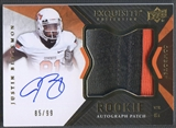 2012 Exquisite Collection #149 Justin Blackmon Rookie Patch Auto #85/99