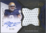 2012 Exquisite Collection #150 Michael Floyd Rookie Patch Auto #53/99