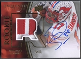 2010 Exquisite Collection #116 Emmanuel Sanders Rookie Patch Auto #69/75