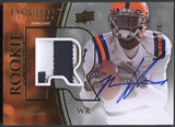 2010 Exquisite Collection #129 Mike Williams Rookie Patch Auto #030/120