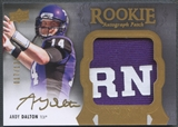 2011 Exquisite Collection #145 Andy Dalton Rookie Patch Auto #017/135