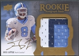 2011 Exquisite Collection #132 Greg Little Rookie Patch Auto #040/135