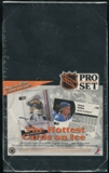 1991/92 Pro Set English/French Series 1 Hockey Jumbo Box