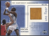 2001/02 Upper Deck Ovation #MJF5 Michael Jordan MJ UNC Memorabilia Floor