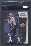 2000 Playoff Contenders #144 Tom Brady Rookie Auto BGS 9 Raw Card Review