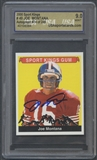 2000 Sport Kings #49 Joe Montana Auto #074/249 (Montana COA) USA 9 (MINT)