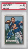 1951 Bowman Football John Lujack PSA 8 (NM-MT) *3240