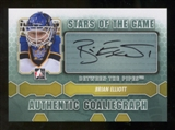 2012/13 In the Game Between The Pipes Autographs #ABEL Brian Elliott SG SP Autograph