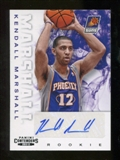 2012/13 Panini Contenders #212 Kendall Marshall Autograph