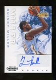 2012/13 Panini Contenders #236 Quincy Miller Autograph